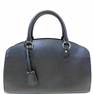 LOUIS VUITTON Pont Neuf PM Epi Leather Satchel Bag